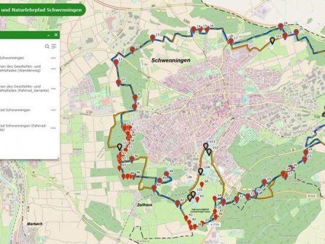 März 2021 Zum Geschichts- und Naturlehrpfad gibt es jetzt auch eine Fahrradroute ONLINE